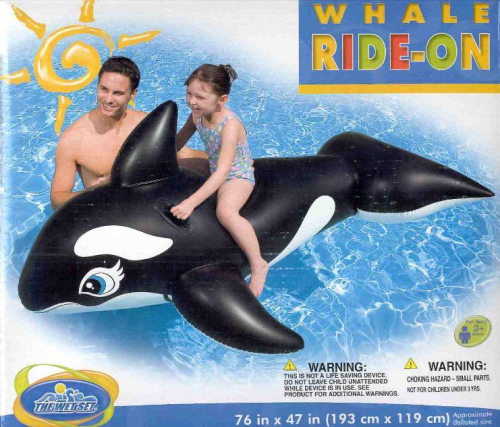 Whale Ride-on