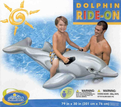 Dolphin Ride-on